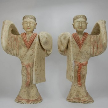 Terracotta dancers, Han dynasty