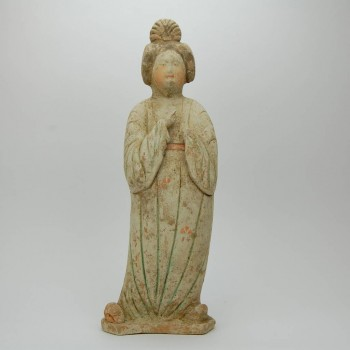 Terracotta Court lady, Tang dynasty